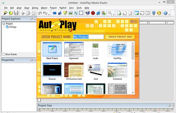محیط نرم افزار autoplay media studio | هنر تعلیم