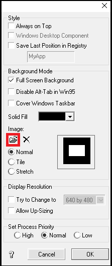 تشریح پنجره خصوصیات پروژه (بخش دوم)