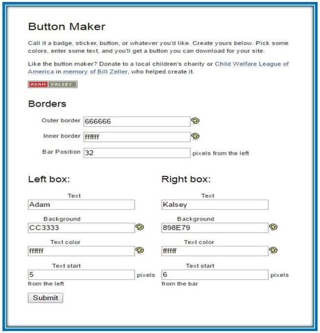 10 سرویس رایگان ساخت Button
